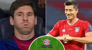 Fan's Barcelona-Bayern Munich Combined XI Ahead Of Champions League Goes Viral