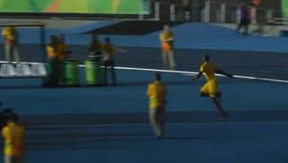 WATCH: Usain Bolt Shows Off His Javelin Skills