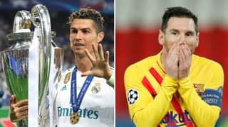 Fans Are Comparing Cristiano Ronaldo And Lionel Messi's Achievements In The Champions League At Age 33