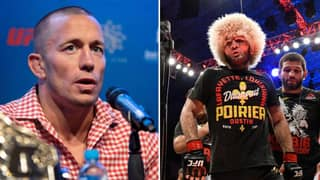Georges St-Pierre Responds To The Idea Of Fighting Khabib Nurmagomedov
