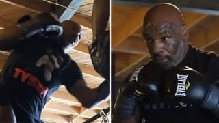 Mike Tyson Shares New Frightening Training Video