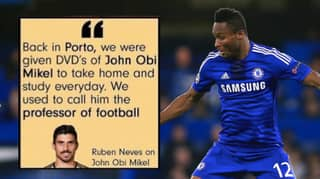 John Obi Mikel Posts Fake Quote From Ruben Nevas On His Instagram Page