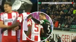 Entire Stadium Brilliantly Chant 'Nazis Out' After Player Receives Racist Abuse