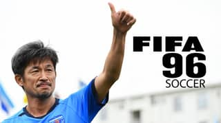 51-Year Old Kazuyoshi Miura Is The Only Player From FIFA 96 Playing Professionally