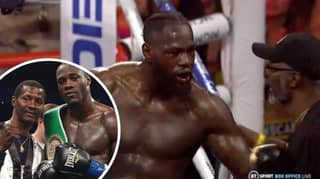 Mark Breland Left In Tears After Being Banned From Deontay Wilder's Changing Room