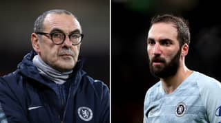 Maurizio Sarri Gives Brutal Assessment Of Gonzalo Higuain