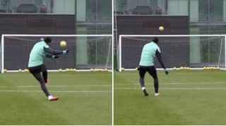 Liverpool Fans Want Virgil Van Dijk To Take Free-Kicks After Seeing Training Video