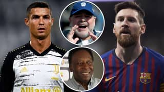 Pele And Diego Maradona Asked Who Is Better Out Of Lionel Messi And Cristiano Ronaldo