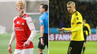 Erling Haaland's Younger Cousin Albert Tjaaland Is Just As Dangerous In Front Of Goal