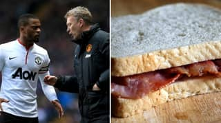 Patrice Evra And David Moyes Once Had An Argument About Bacon Sandwiches