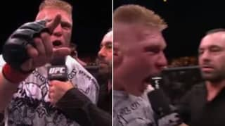 Brock Lesnar's Post-Fight Interview At UFC 100 Even Freaked Out Joe Rogan