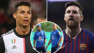 Ronaldo And Ronaldinho Both Settle The GOAT Debate Between Lionel Messi And Cristiano Ronaldo