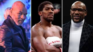 Anthony Joshua Sends Message To Boxing Legends Mike Tyson And Floyd Mayweather