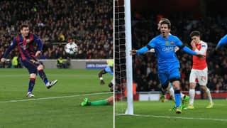 Video Of Lionel Messi Goals Against English Teams Proves He'd Boss The Premier League