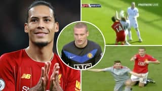 Nemanja Vidic Compilation 'Proves' He Is A 'Joker' Compared To Liverpool Star Virgil Van Dijk