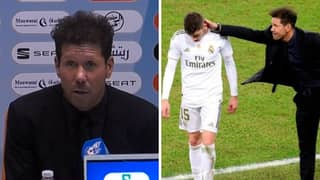 Diego Simeone Gives Honest Response To Federico Valverde's Red Card