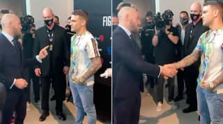 Conor McGregor Tells Dustin Poirier 'We'll Do It Again' In Classy Post Fight Meeting