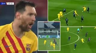 Lionel Messi Put On A Brilliant Performance Vs PSG