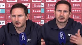 Frank Lampard Doesn't Hold Back As He Slams Football Journalist At Press Conference
