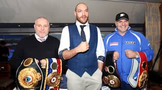 Tyson Fury To Spar With Dad John Ahead Of Bare Knuckle Fight