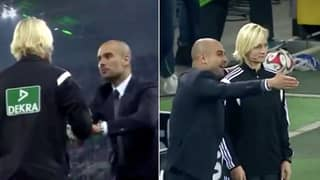 Pep Guardiola's Incident With Female Official Resurfaces After Sergio Aguero Puts Hand On Sian-Massey Ellis