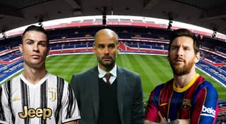 Lionel Messi, Cristiano Ronaldo And Pep Guardiola Will Reportedly Team Up At PSG By 2021