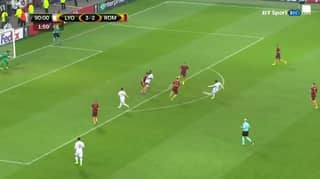 WATCH: Alexandre Lacazette Scores An Absolute Beauty Against Roma