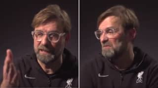 Jurgen Klopp Lost His Cool With Geoff Shreeves Yet Again During Incredibly Salty Interview