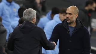 Jose Mourinho And Pep Guardiola Snub One Another As They Name Toughest Managers They've Faced