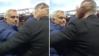 Fans Love Jose Mourinho Going 'Full S**thouse' And Patting Ole Gunnar Solskjaer On The Head