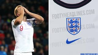England's Euro 2020 Kit Has Been Leaked And It's 'The Worst In History'