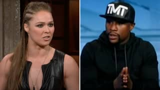 UFC Legend Ronda Rousey Once Put Floyd Mayweather In His Place With A Brutal Comment
