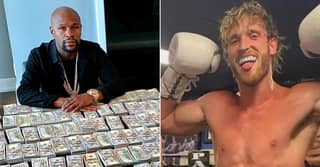 Floyd Mayweather And Logan Paul Pay Split Leaked For Both Fighters