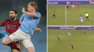 Kevin De Bruyne Pulls Off The Most Ridiculous 'Bicycle Kick' Pass Of The Season Against Wolves