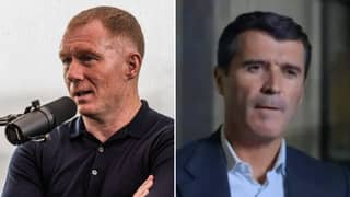 Paul Scholes Responds To Roy Keane Leaving Him Out Of Man Utd Best XI