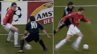 John O'Shea's Nutmeg On Luis Figo Is One Of Football's Greatest Moments