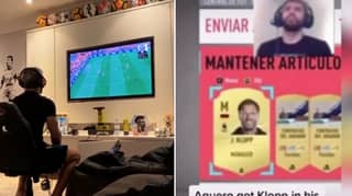 Sergio Aguero's Incredible Reaction Of Packing Jurgen Klopp On FIFA Ultimate Team
