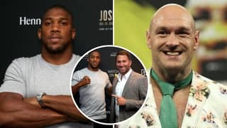 Anthony Joshua's Tactics To Beat Tyson Fury In Unification Clash Revealed By Eddie Hearn