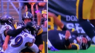 Pittsburgh Steelers Quarterback Mason Rudolph Knocked Out Cold After Sickening Clash
