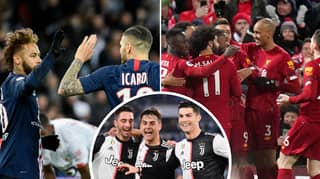 A Table Of Europe's Top Five Leagues Combined Has Been Revealed