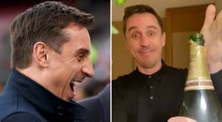 Gary Neville Reacts To Liverpool's Anfield Defeat At Hands Of Burnley