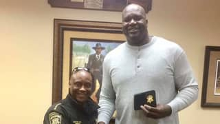 NBA Hall Of Famer Shaquille O'Neal Hired By Georgia Sheriff's Office