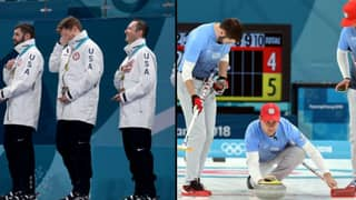 Men's Curling Team Notice Embarrassing Mistake After Winning First Ever Olympic Gold Medal