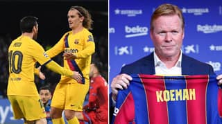 The Agreement Antoine Griezmann And Ronald Koeman Have Made