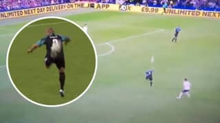 When Roberto Carlos Pulled Off The Most Outrageous Backheel Pass During Soccer Aid Match