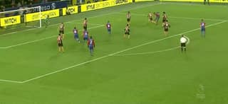 WATCH: Wilfried Zaha Scores Sensational Solo Goal Against Hull