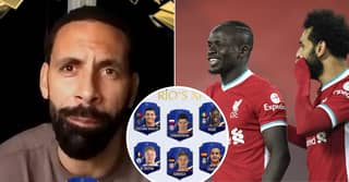 Rio Ferdinand Picks Five Liverpool Players But Not Bruno Fernandes In His FIFA 21 Team Of The Year