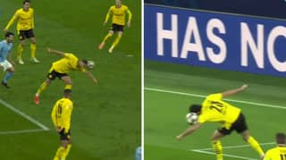 Fans Aren't Happy With Manchester City Penalty Vs Borussia Dortmund