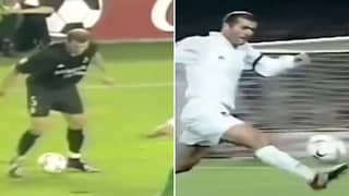 Zinedine Zidane's Unreal Control And Technique Shown Off In Twitter Compilation