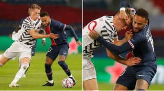 Manchester United Reveal Scott McTominay Played With 'One Eye' In First-Half Against Paris Saint-Germain